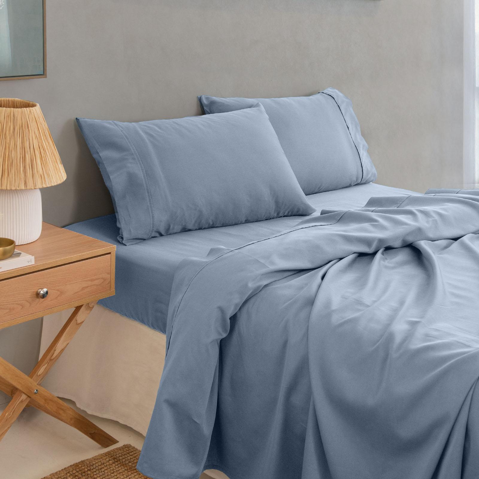 thumbnail 12 - Royal Comfort 1000TC Hotel Grade Bamboo Cotton Sheets Pillowcases Set Ultrasoft