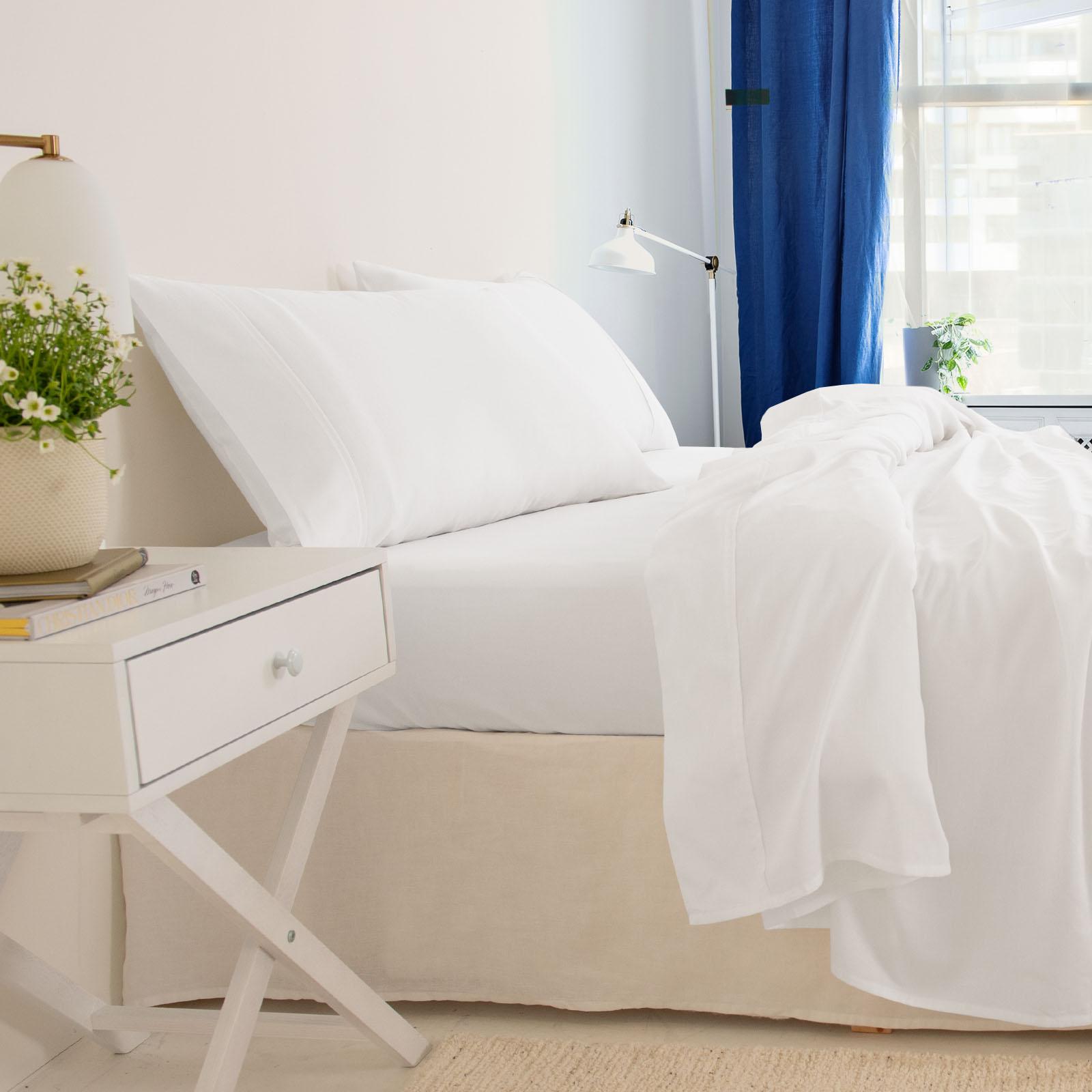 thumbnail 76 - Royal Comfort 1000TC Hotel Grade Bamboo Cotton Sheets Pillowcases Set Ultrasoft