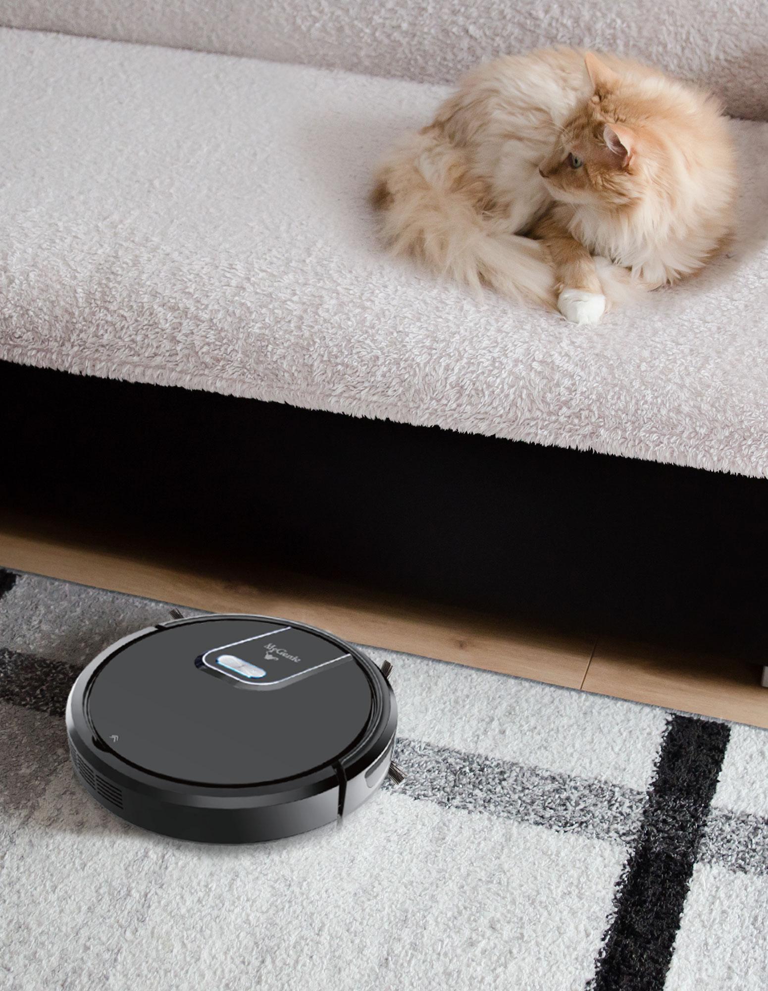 thumbnail 9 - MyGenie WI-FI GMAX Robotic Vacuum Cleaner Mop App Control Dry & Wet Auto Robot