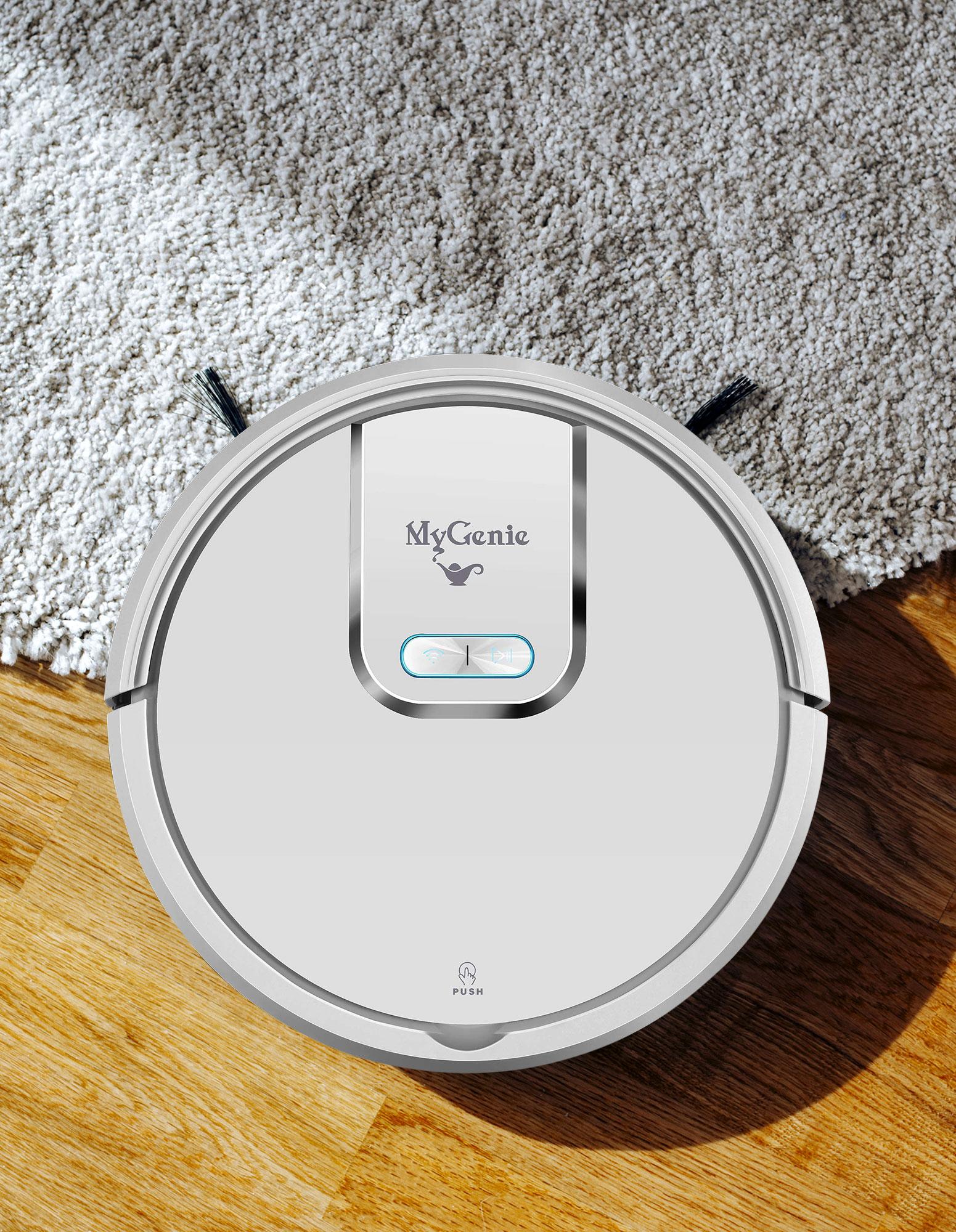thumbnail 16 - MyGenie WI-FI GMAX Robotic Vacuum Cleaner Mop App Control Dry & Wet Auto Robot