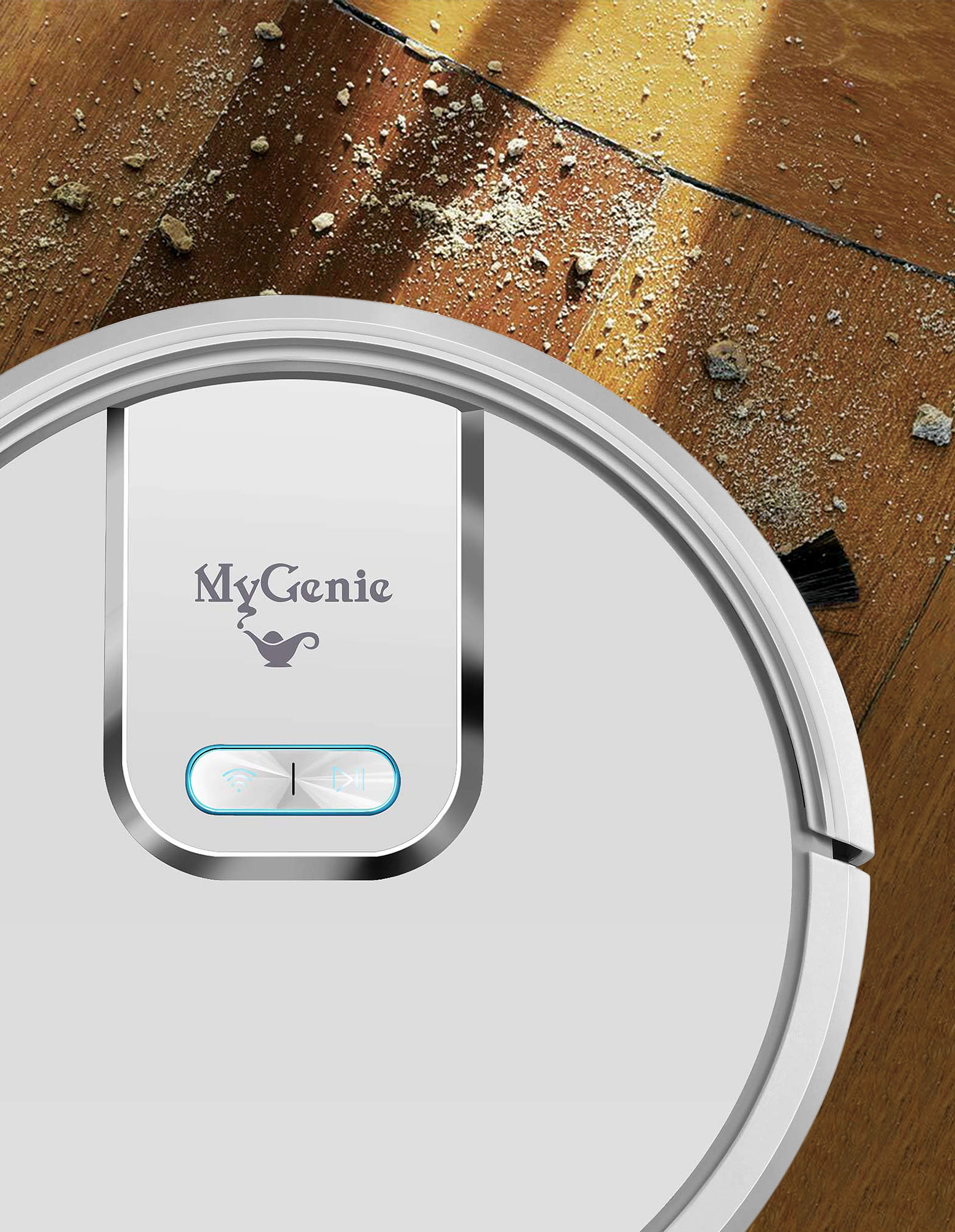 thumbnail 18 - MyGenie WI-FI GMAX Robotic Vacuum Cleaner Mop App Control Dry & Wet Auto Robot