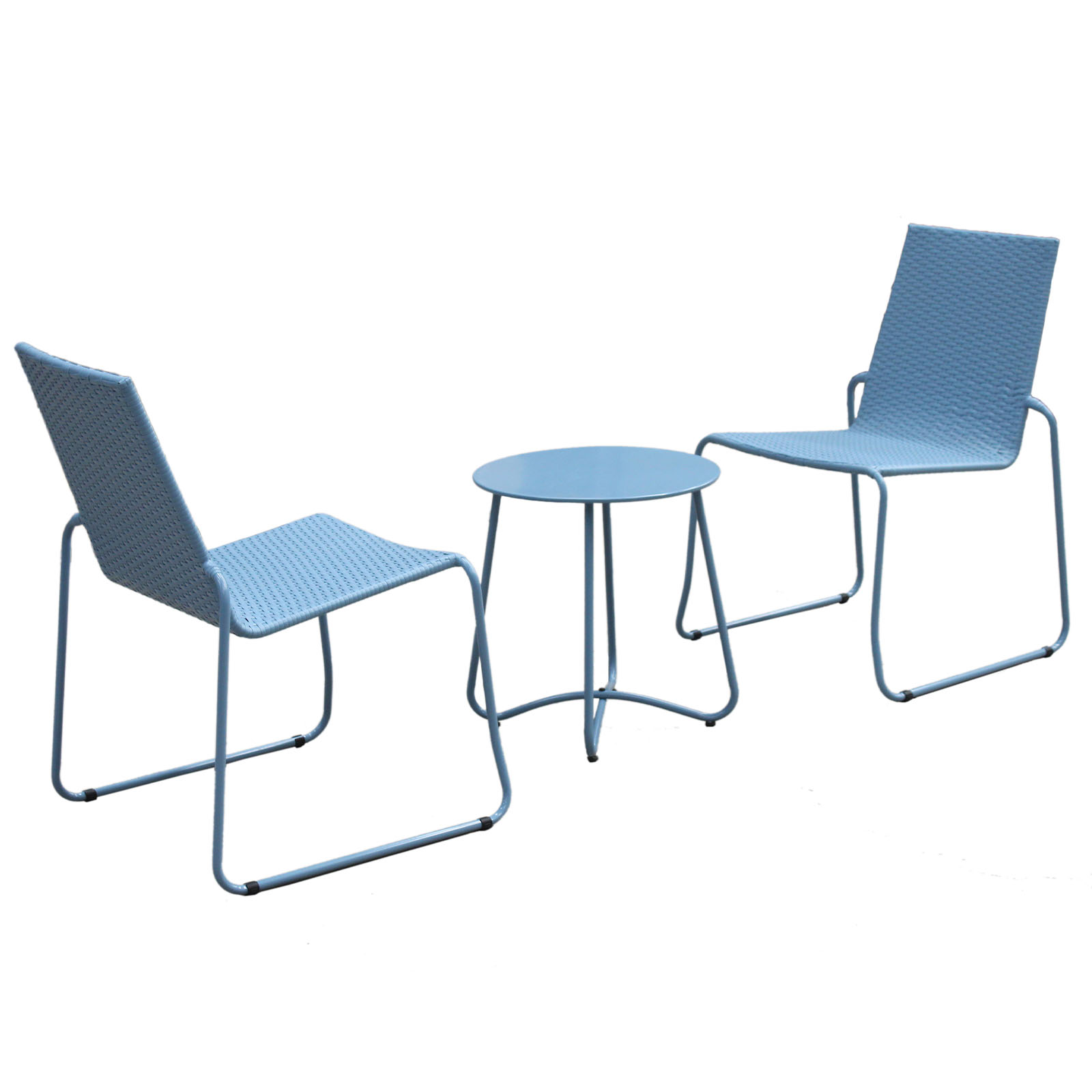Milano-3pc-Outdoor-Furniture-Steel-Rattan-Coffee-Table-amp-Chairs-Patio-Garden-Set