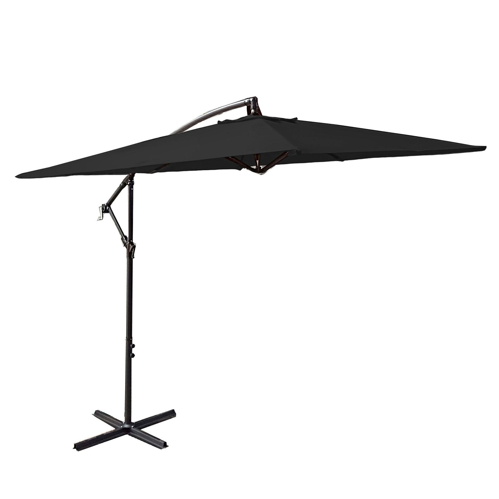 Milano-2-2M-Outdoor-Umbrella-Cantilever-Garden-Deck-Patio-Shade-Water-Resistant thumbnail 16