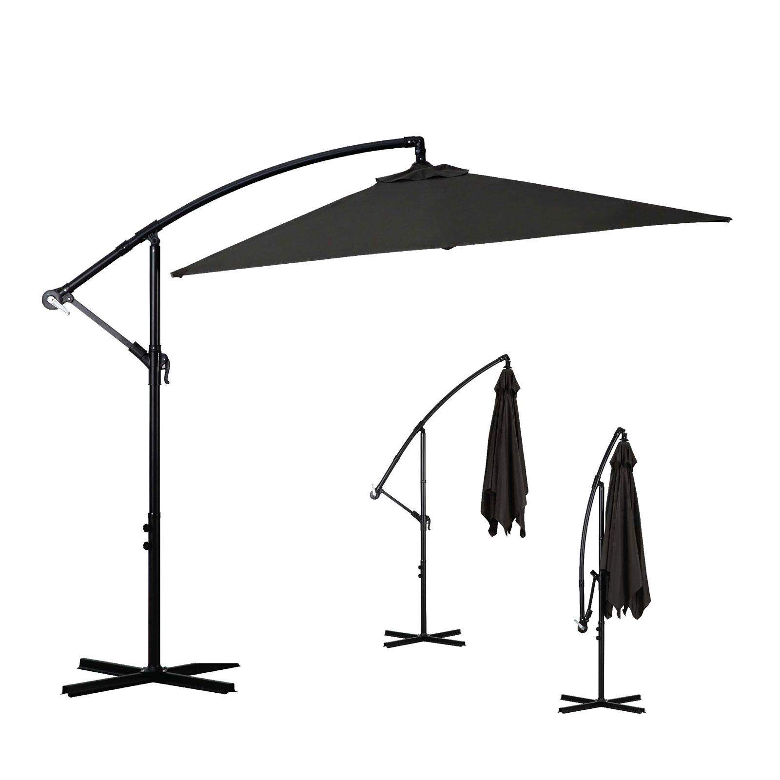 Milano-2-2M-Outdoor-Umbrella-Cantilever-Garden-Deck-Patio-Shade-Water-Resistant thumbnail 18