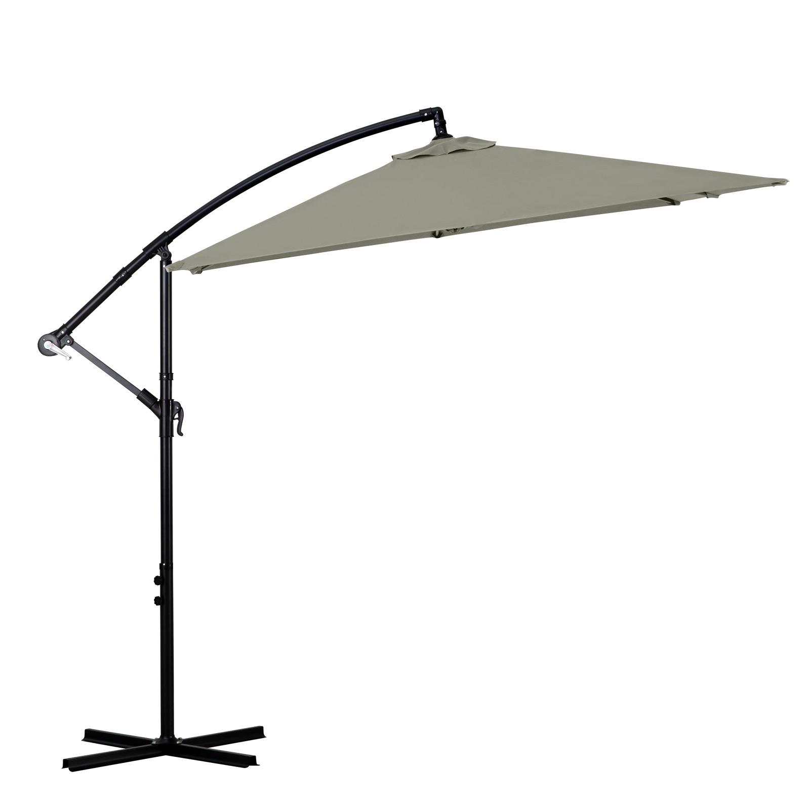Milano-2-2M-Outdoor-Umbrella-Cantilever-Garden-Deck-Patio-Shade-Water-Resistant thumbnail 23