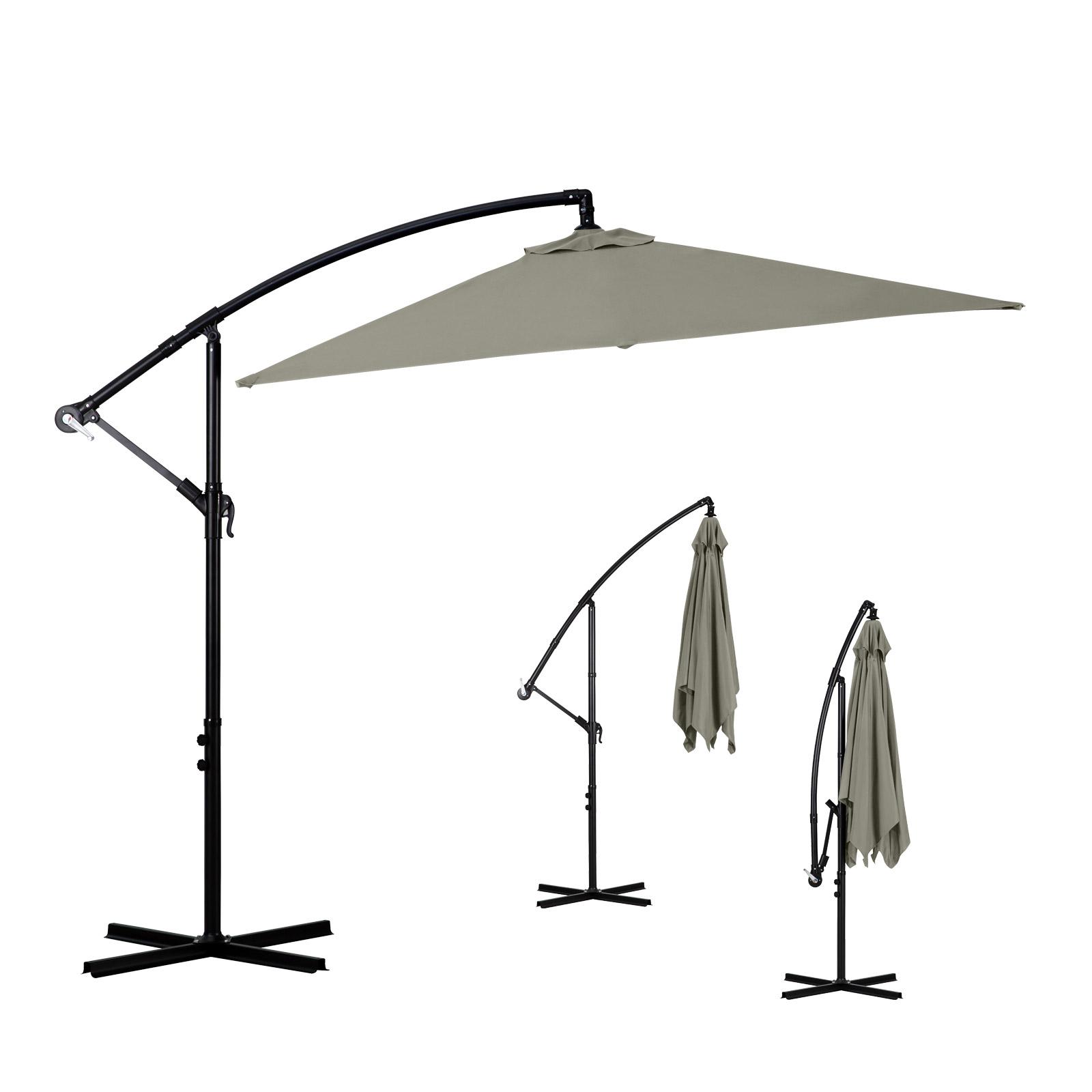 Milano-2-2M-Outdoor-Umbrella-Cantilever-Garden-Deck-Patio-Shade-Water-Resistant thumbnail 24