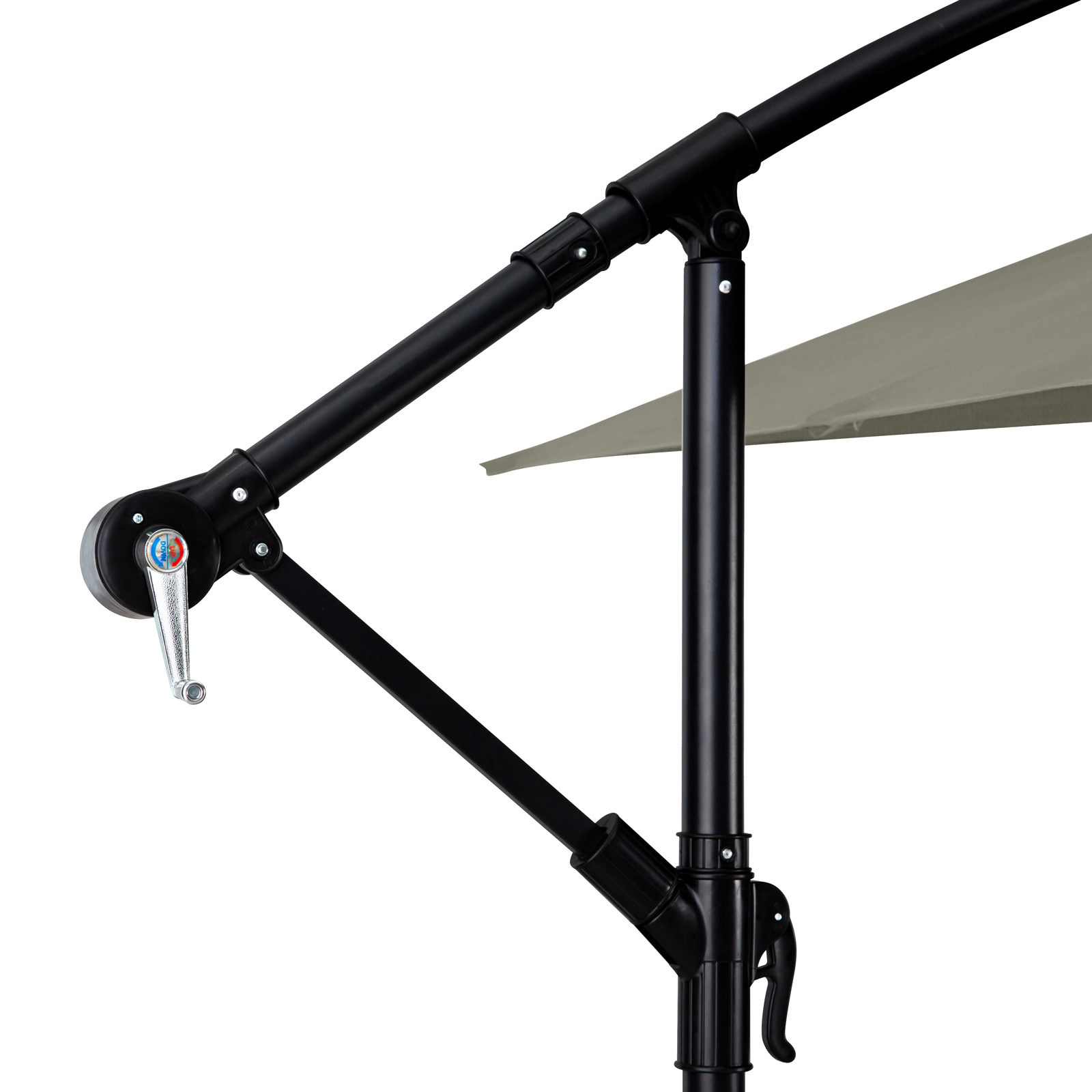 Milano-2-2M-Outdoor-Umbrella-Cantilever-Garden-Deck-Patio-Shade-Water-Resistant thumbnail 25