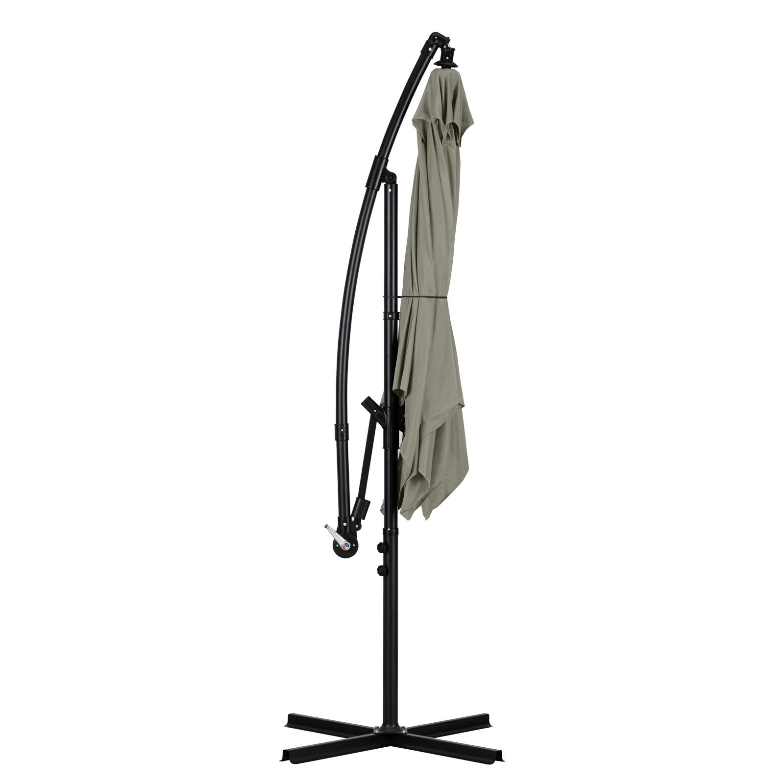 Milano-2-2M-Outdoor-Umbrella-Cantilever-Garden-Deck-Patio-Shade-Water-Resistant thumbnail 26
