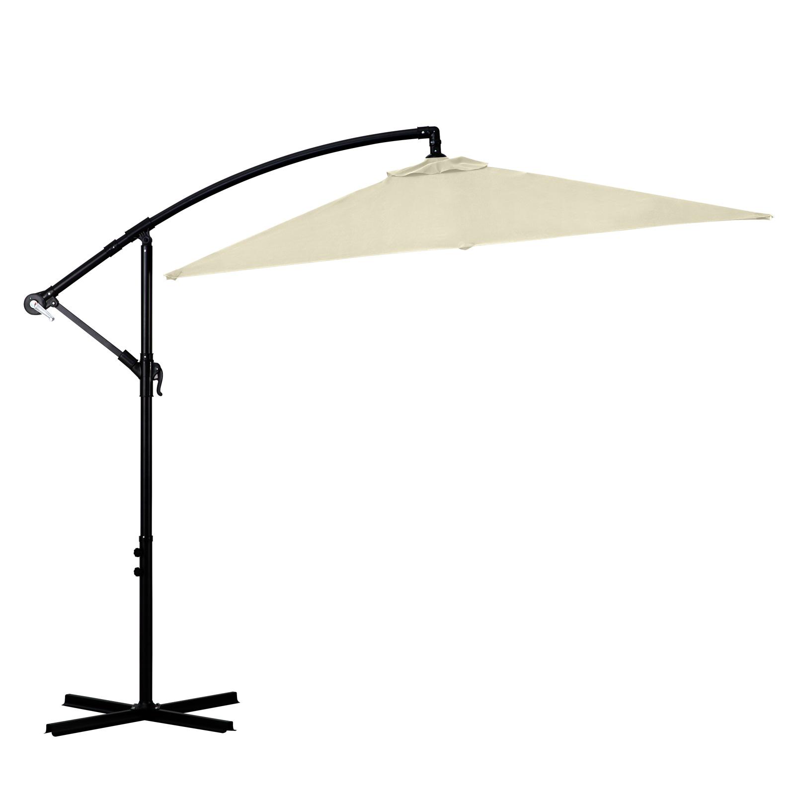 Milano-2-2M-Outdoor-Umbrella-Cantilever-Garden-Deck-Patio-Shade-Water-Resistant thumbnail 7