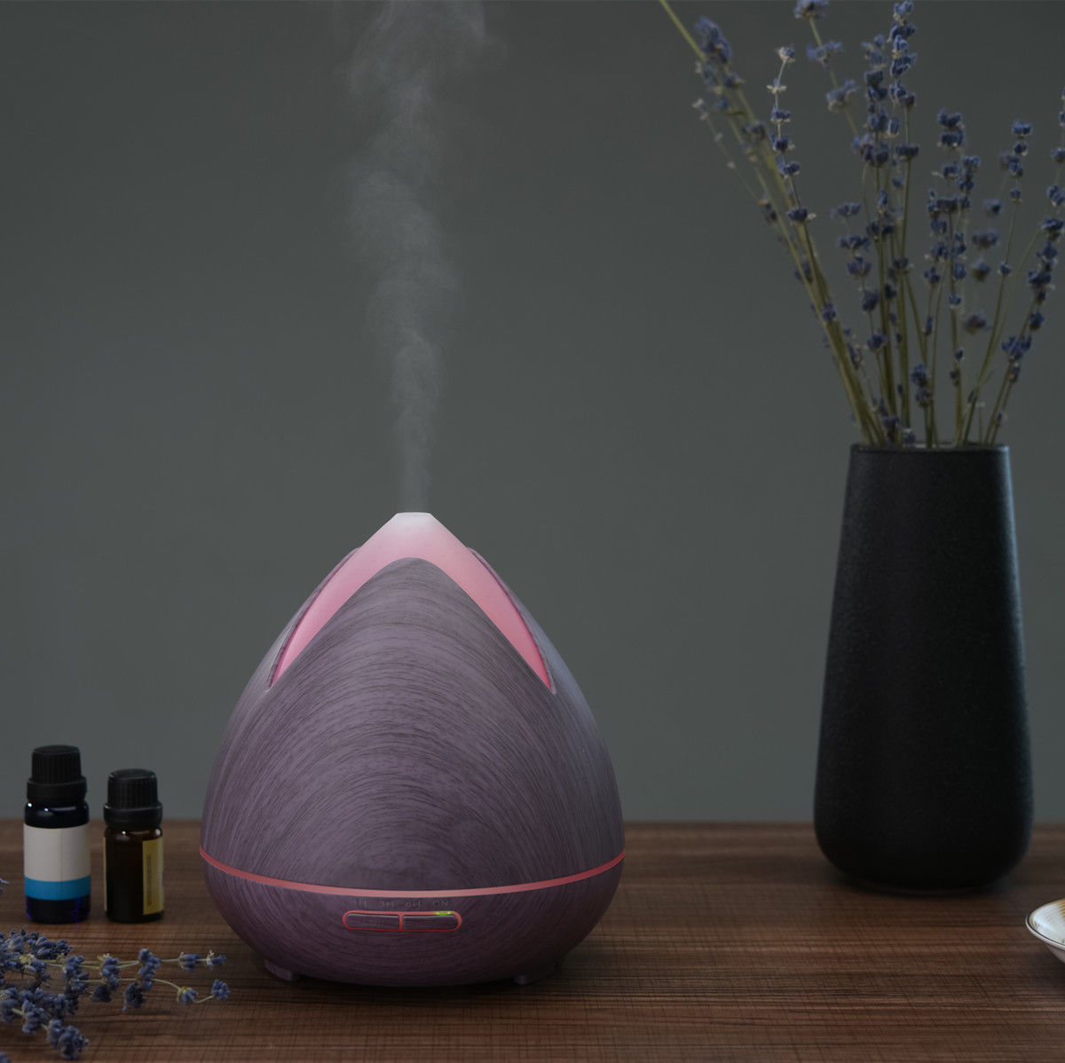 NEW-Essential-Oils-Ultrasonic-Aromatherapy-Diffuser-Air-Humidifier-Purify-400ML