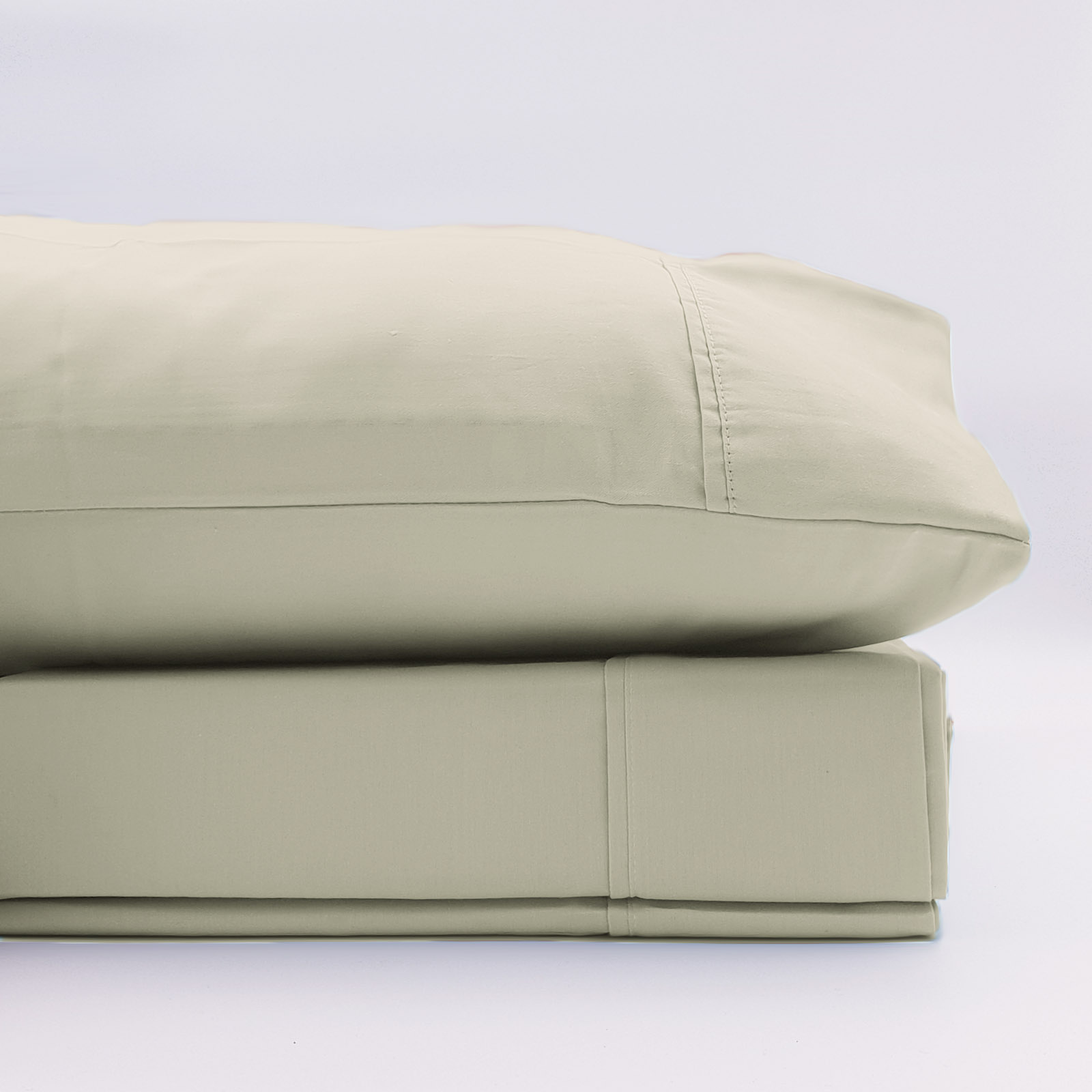 Renee-Taylor-1500-Thread-Count-Pure-Soft-Cotton-Blend-Flat-amp-Fitted-Sheet-Set thumbnail 10