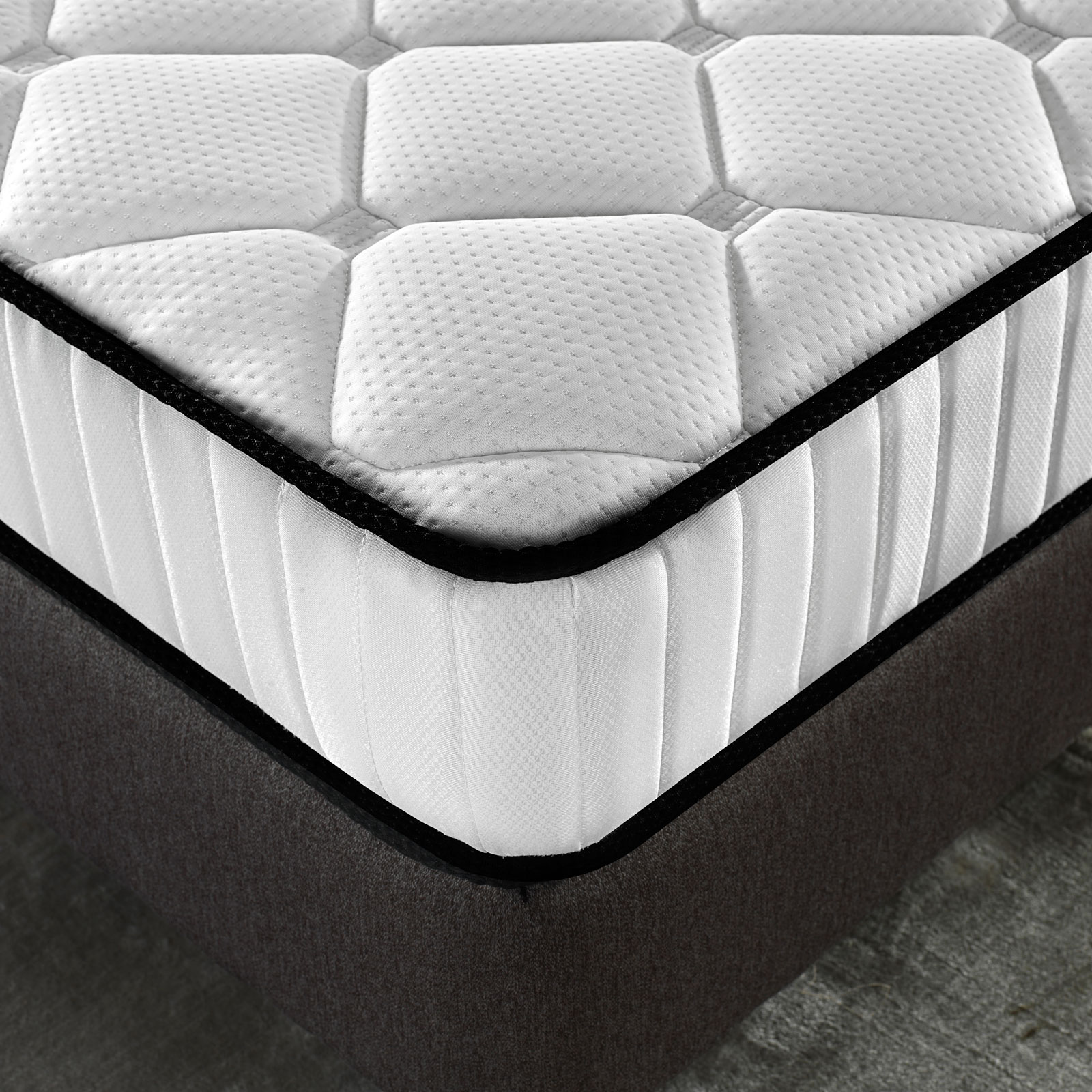 Royal-Comfort-Comforpedic-5-zone-Bed-Mattress-in-a-Box-Single-Double-Queen-King