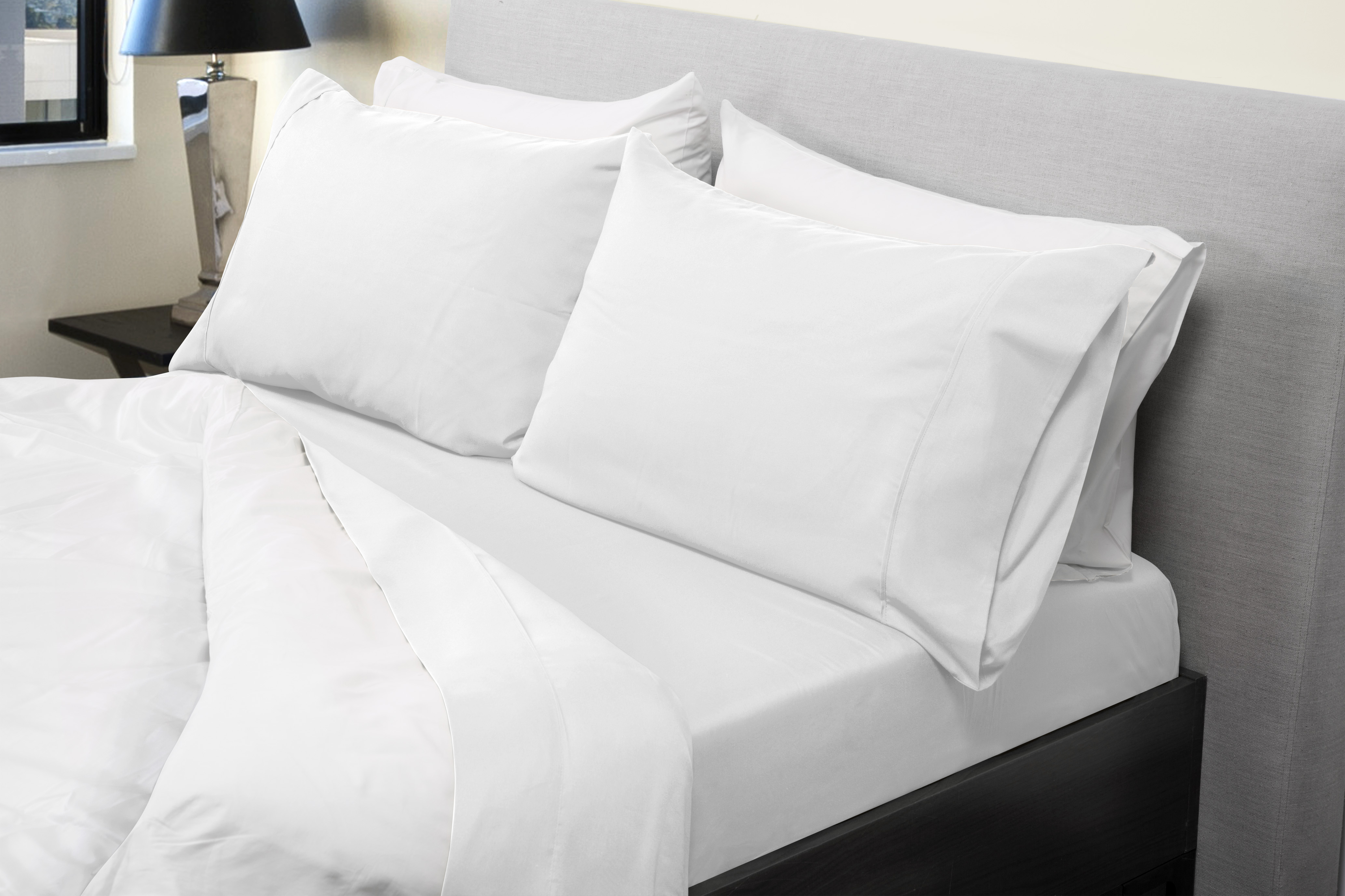 New Bed Sheets Set 1000TC Bamboo Blend Flat