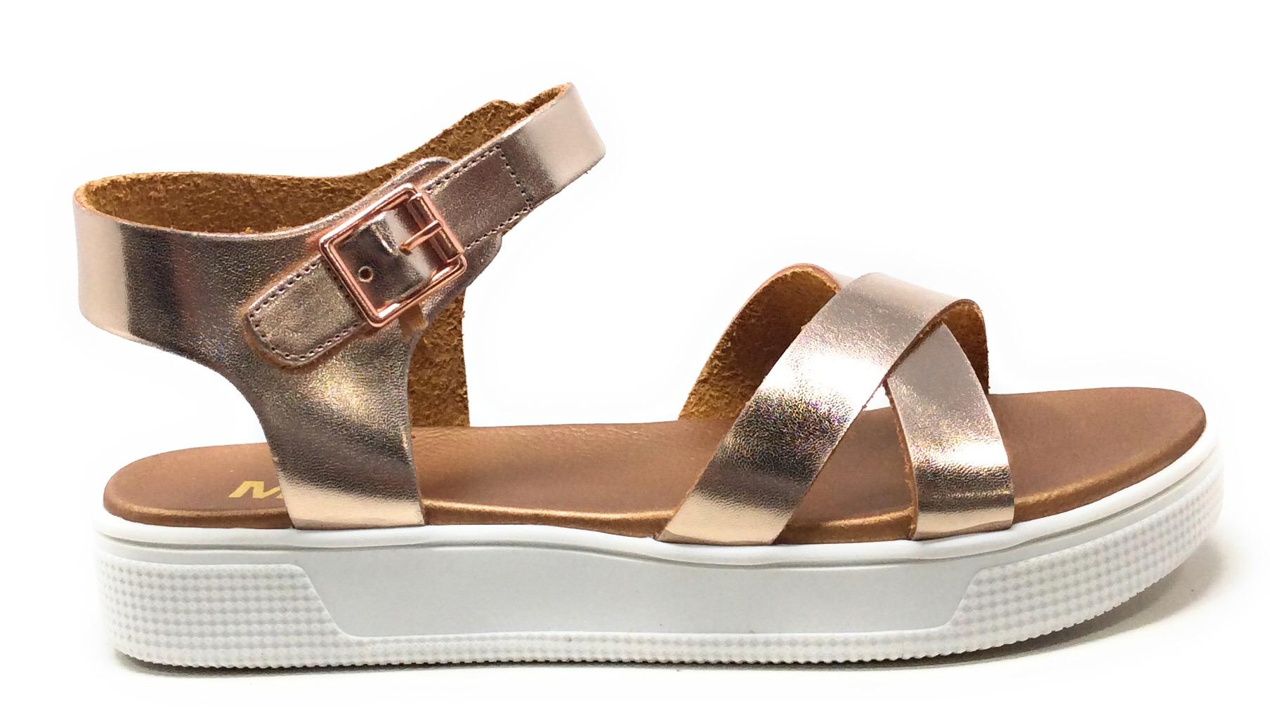 MIA Shoes Big Girls CSK406 Janie-K Gold