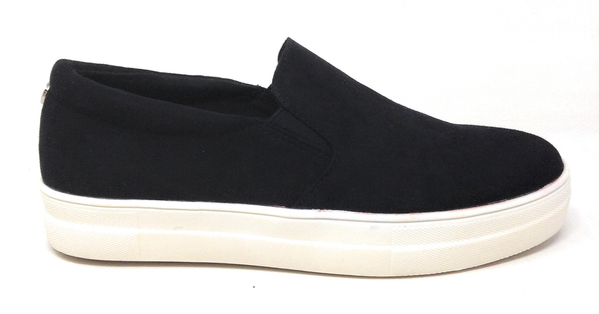 Gemma Slip On Casual Flat Shoes Black