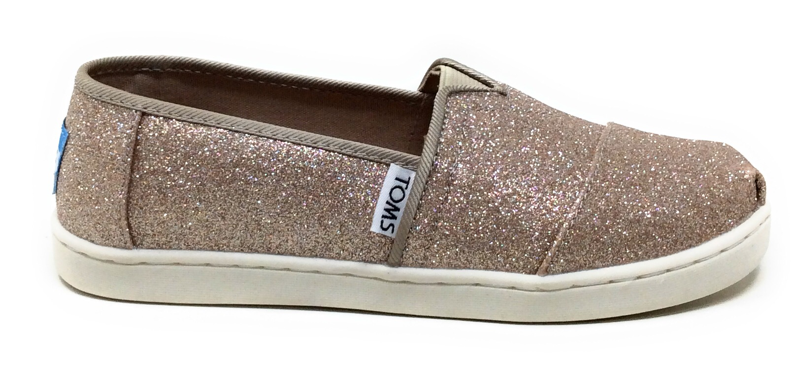 Toms Youth Girls Classic Slip On Casual