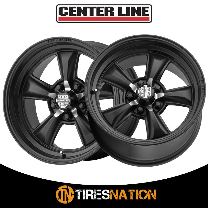Centerline 635B MM6 Satin Black 22x10.5 5x120 38mm 635B-2211238