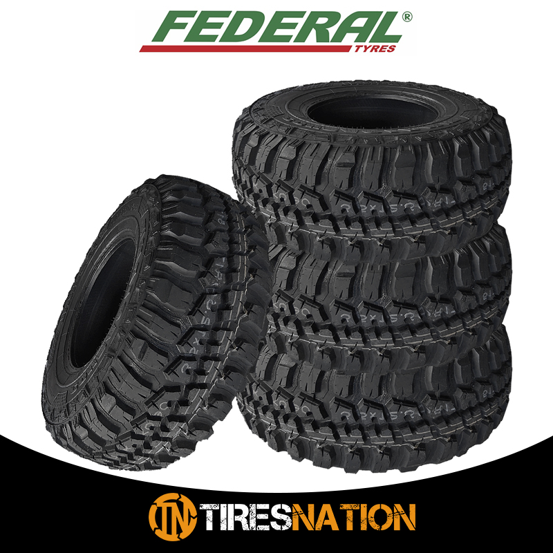 New FEDERAL COURAGIA M//T 31X10.50R15  All Terrain Mud Tires 2