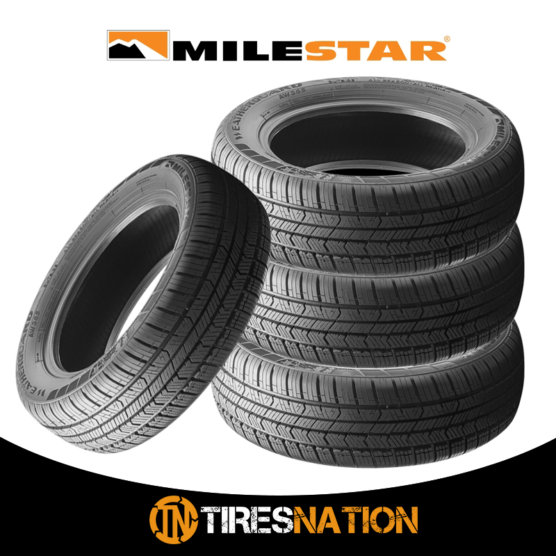 All Weather Tire >> Details About 4 New Milestar Weatherguard Aw365 235 50 18 101h Passenger All Weather Tire