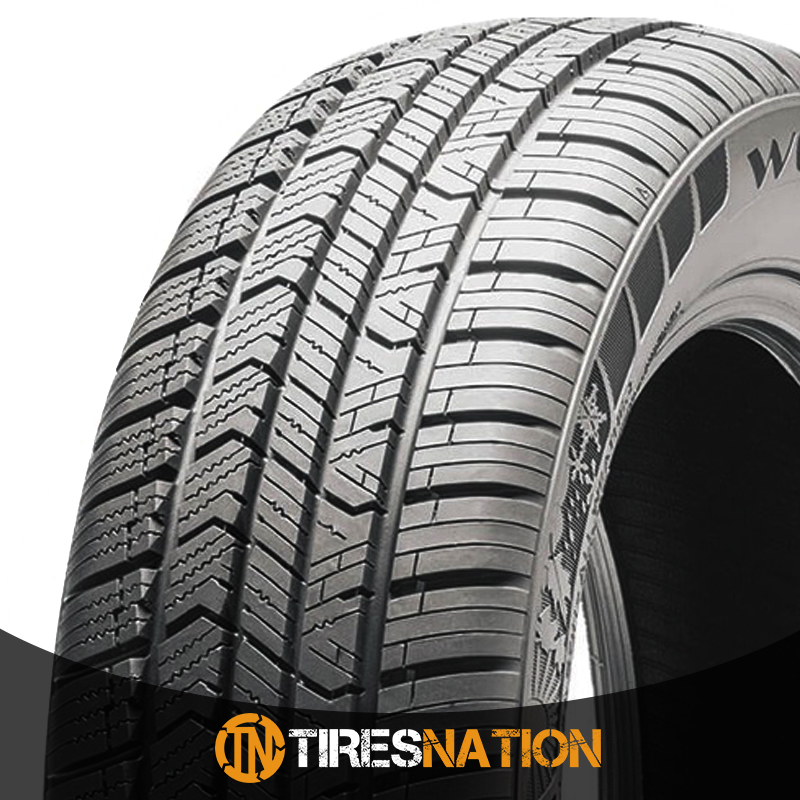 All Weather Tire >> Details About 1 New Milestar Weatherguard Aw365 225 60 16 98h Passenger All Weather Tire
