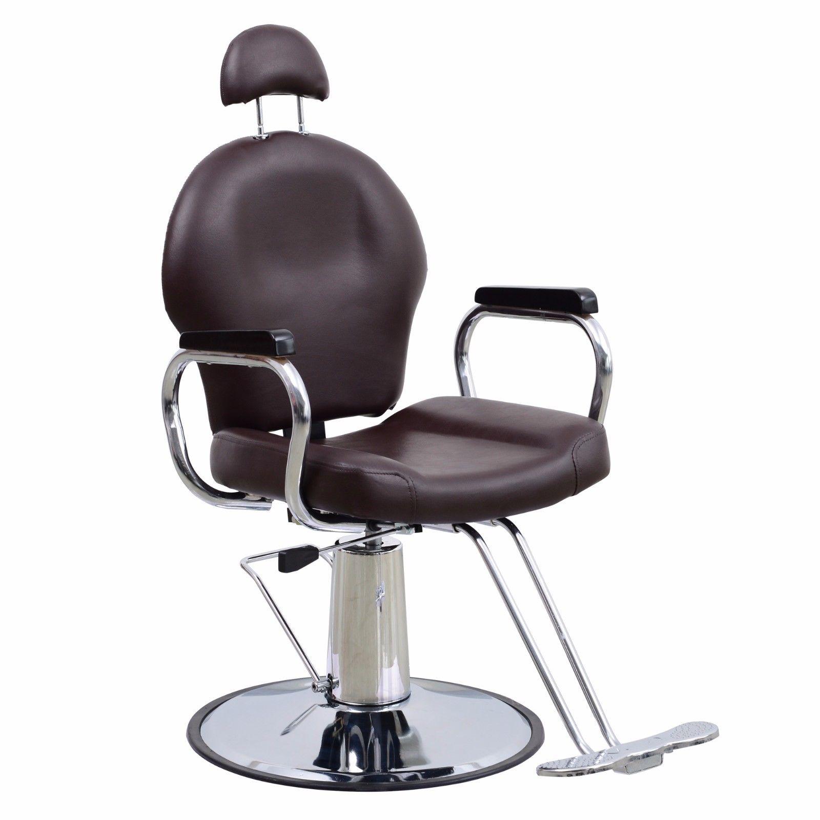 Reclining Barber Chair Hydraulic Salon Styling Beauty Spa