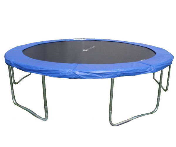 14 Ft Trampoline Combo Bounce Jump Safety W Spring Pad: Trampoline W/safety Pad&Intra EnclosureNet&ladder COMBO