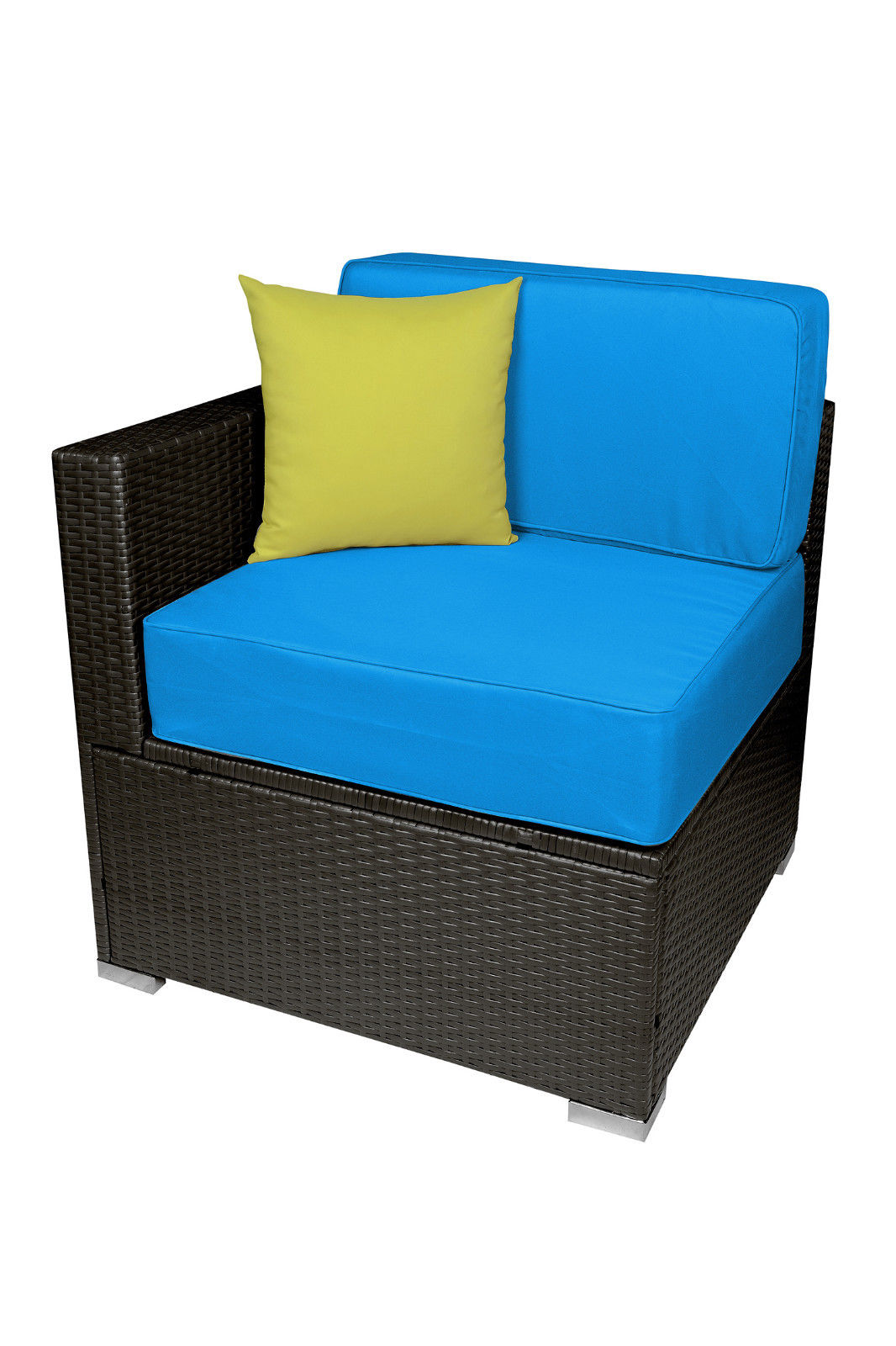Outdoor Wicker Sofa All-Weather Patio Furniture Sectional