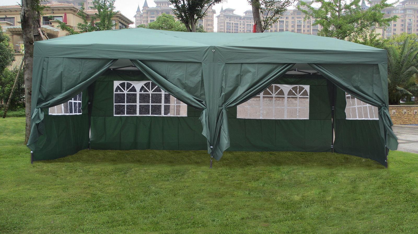 Mcombo 10x10 10x20 Ez Pop Up Wedding Party Tent Folding