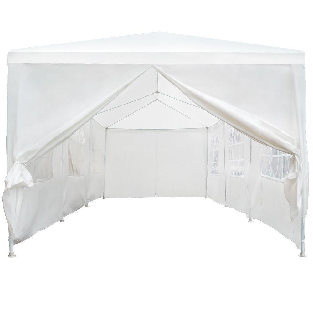 Wedding With White Tent: MCombo New 10'x30' White Outdoor Gazebo Canopy Wedding