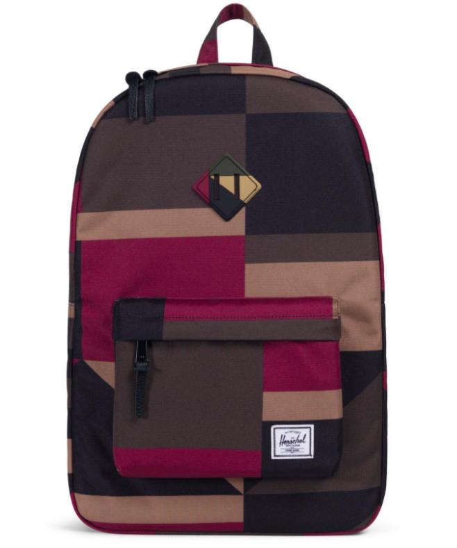 6e6d211d24e Herschel Supply Co. - Heritage Backpack, Windsor Wine  Frontier Geo ...