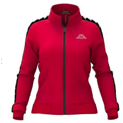 aa3c739c30 Kappa Women 222 Banda Wanniston Slim Jacket, Red/ Black | eBay