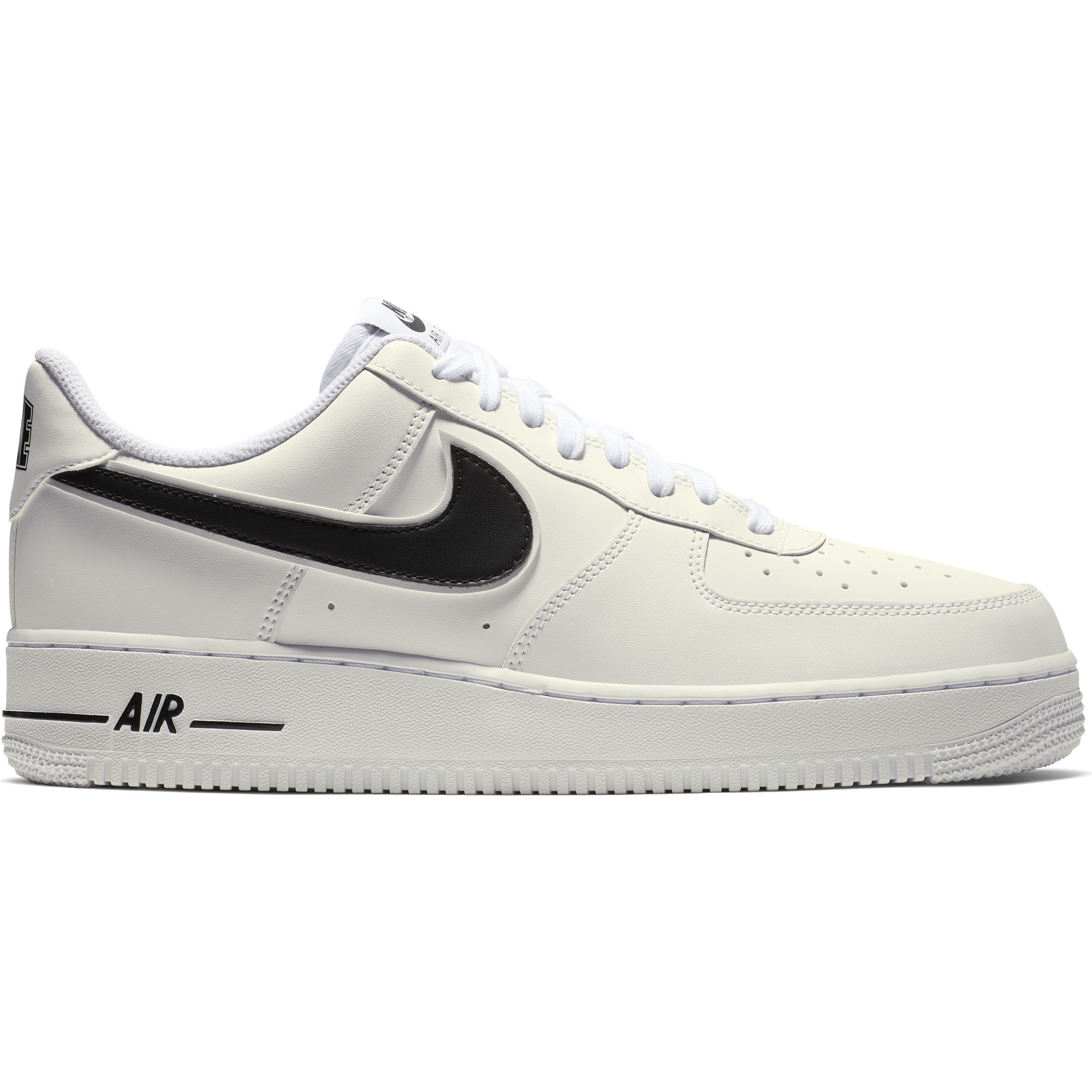cheap for discount af7f8 6ca31 Details about Nike Men s AIR FORCE 1  07 3 Low-cut Sneakers, White Black