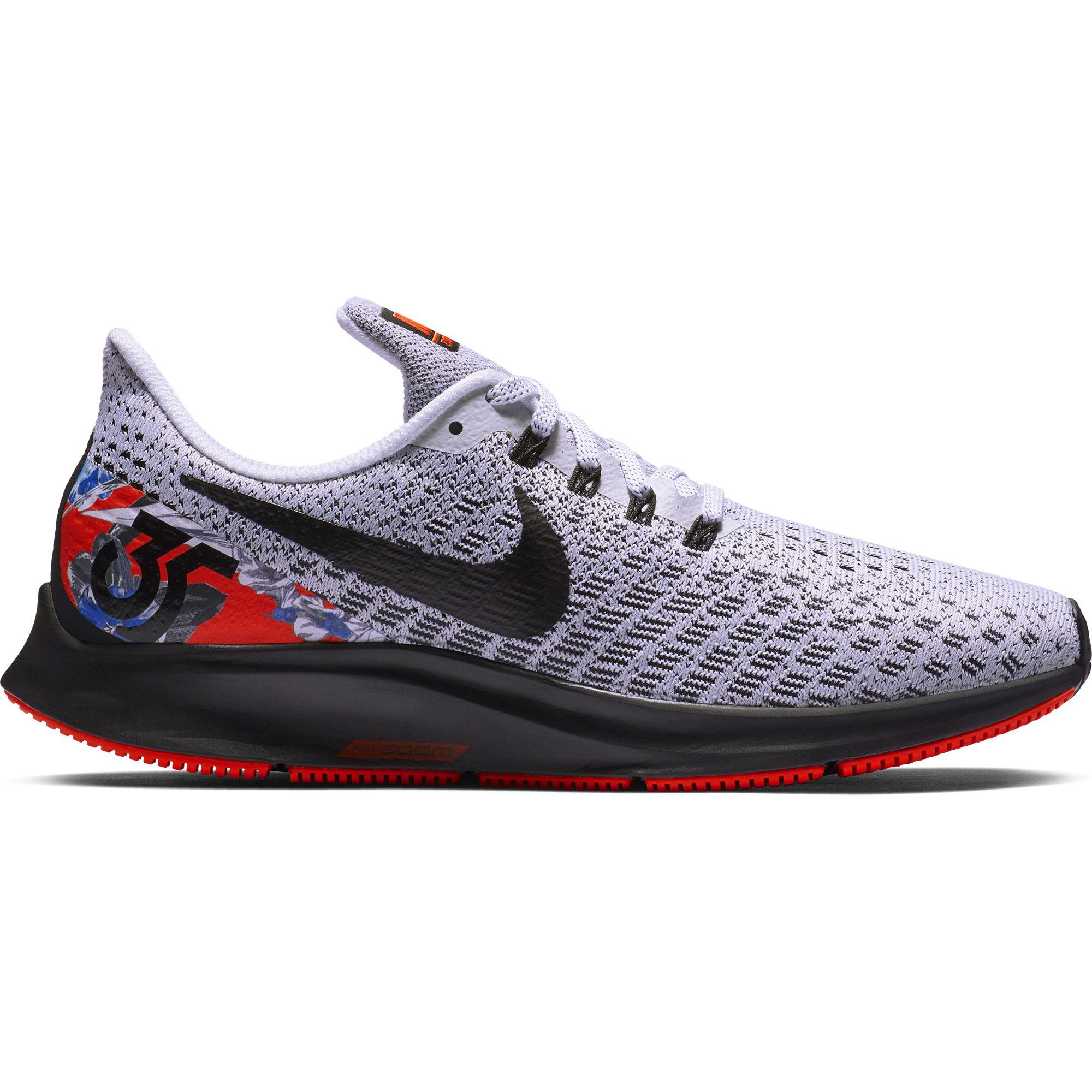 420b942a7 Nike Women's Nike Air Zoom Pegasus 35 Floral Sneakers, White/ Black ...