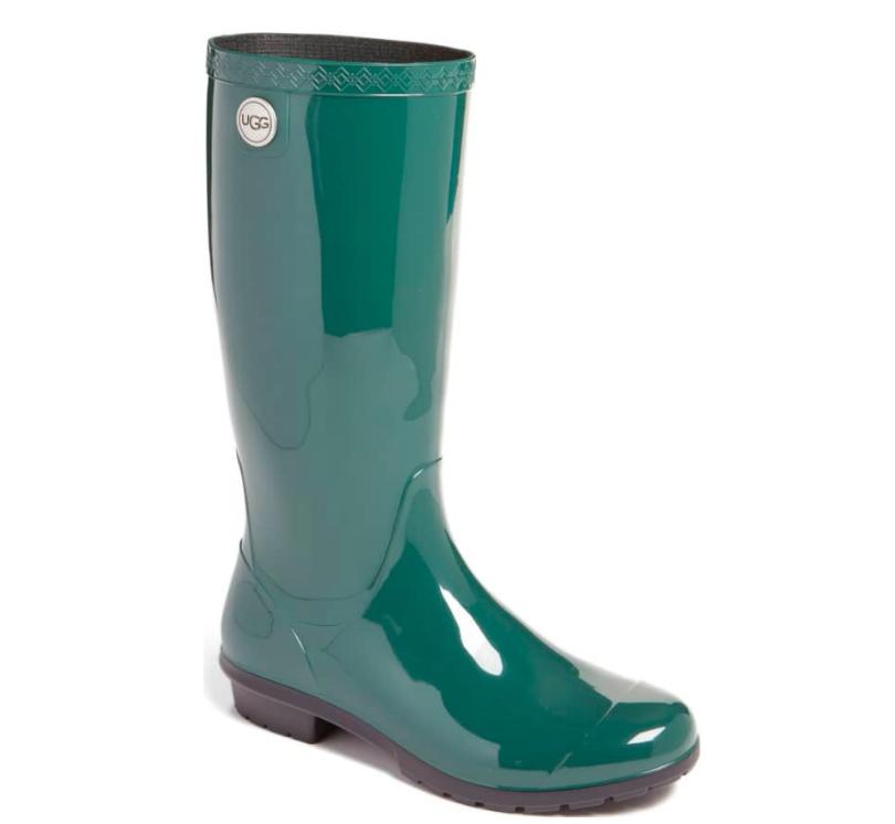 7ace454388e UGG Women's Shaye Rain Boots,Pine | eBay