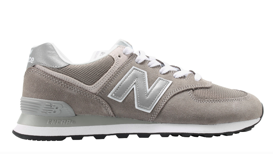24a138cd0f Details about New Balance Men's ML574EGG Classic Casual Sneakers,  Grey/Silver