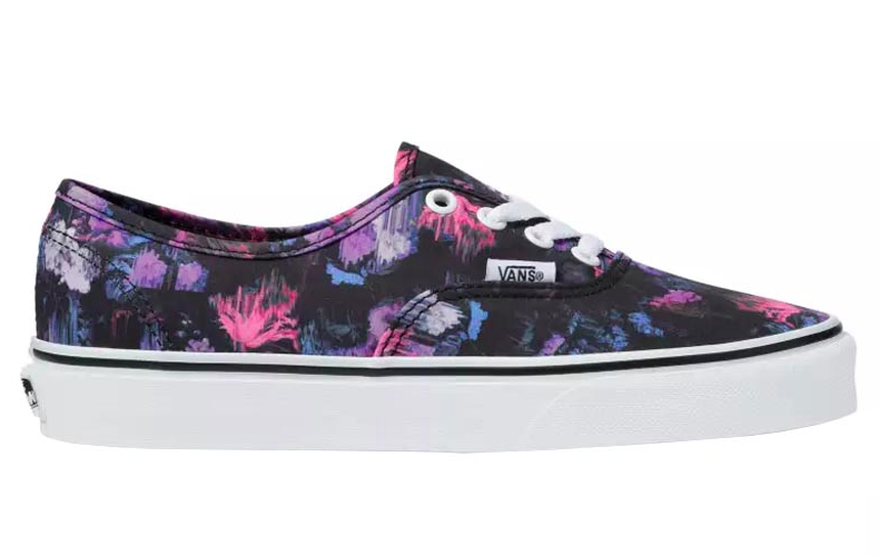 2vans authentic floral
