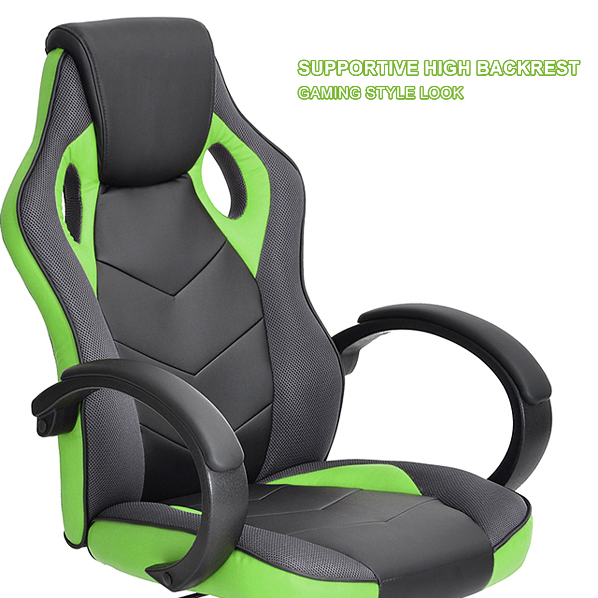 thumbnail 15 - Gaming Racing Chair Office High Back Ergonomic Computer Desk Swivel PU Leather