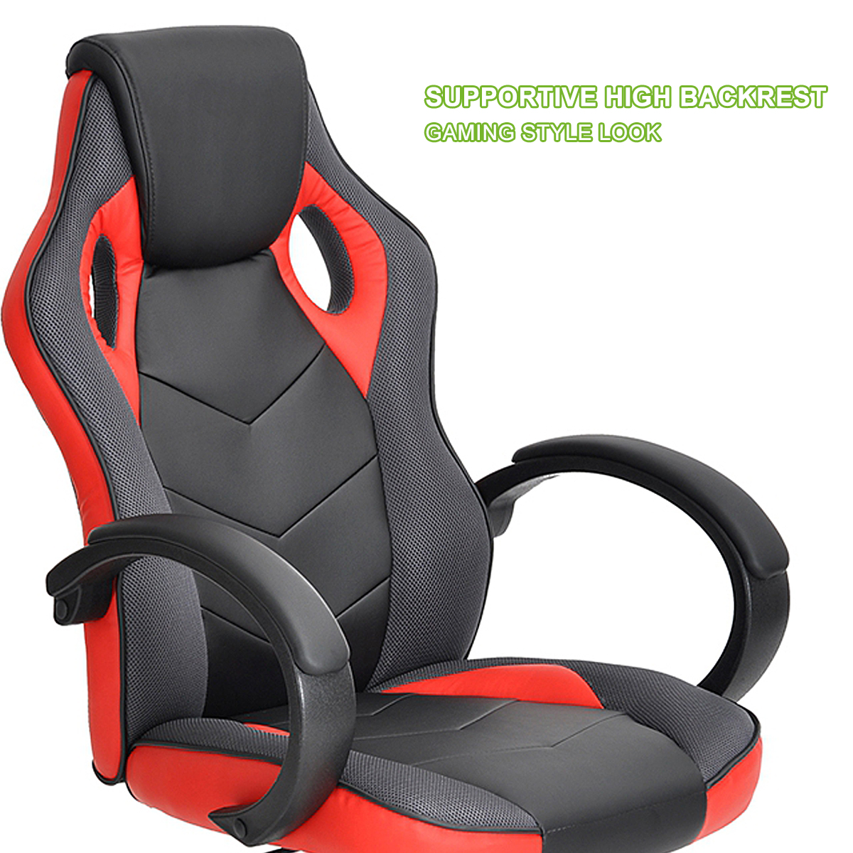 thumbnail 26 - Gaming Racing Chair Office High Back Ergonomic Computer Desk Swivel PU Leather