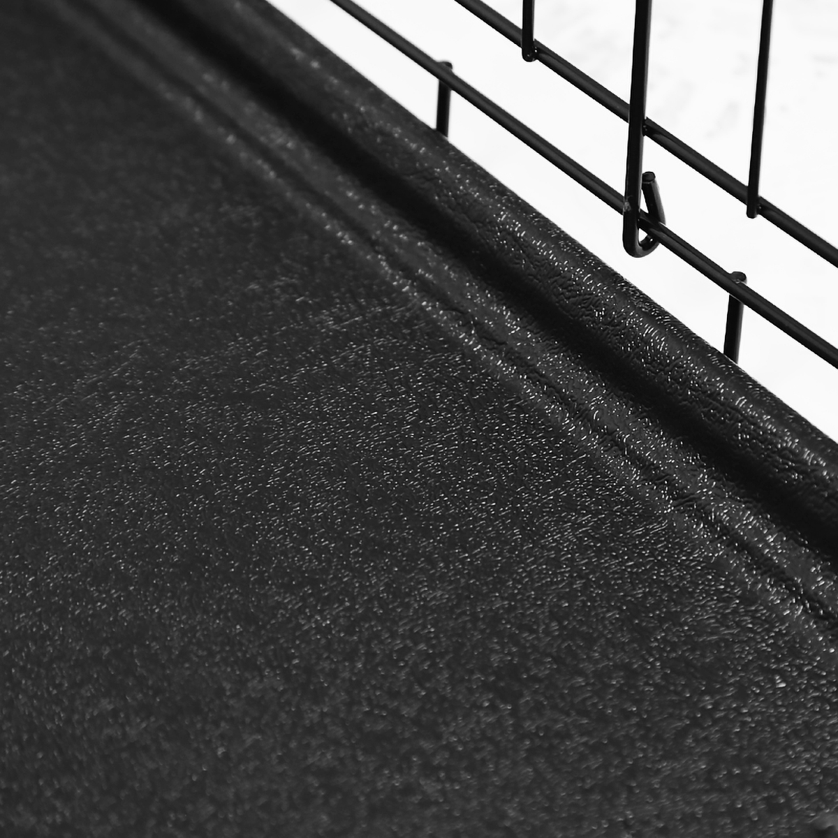 "thumbnail 10 - [24""][30""][36""][42""][48""] Folding Portable Dog Crate Pet Cage Kennel Pen 2-Doors"