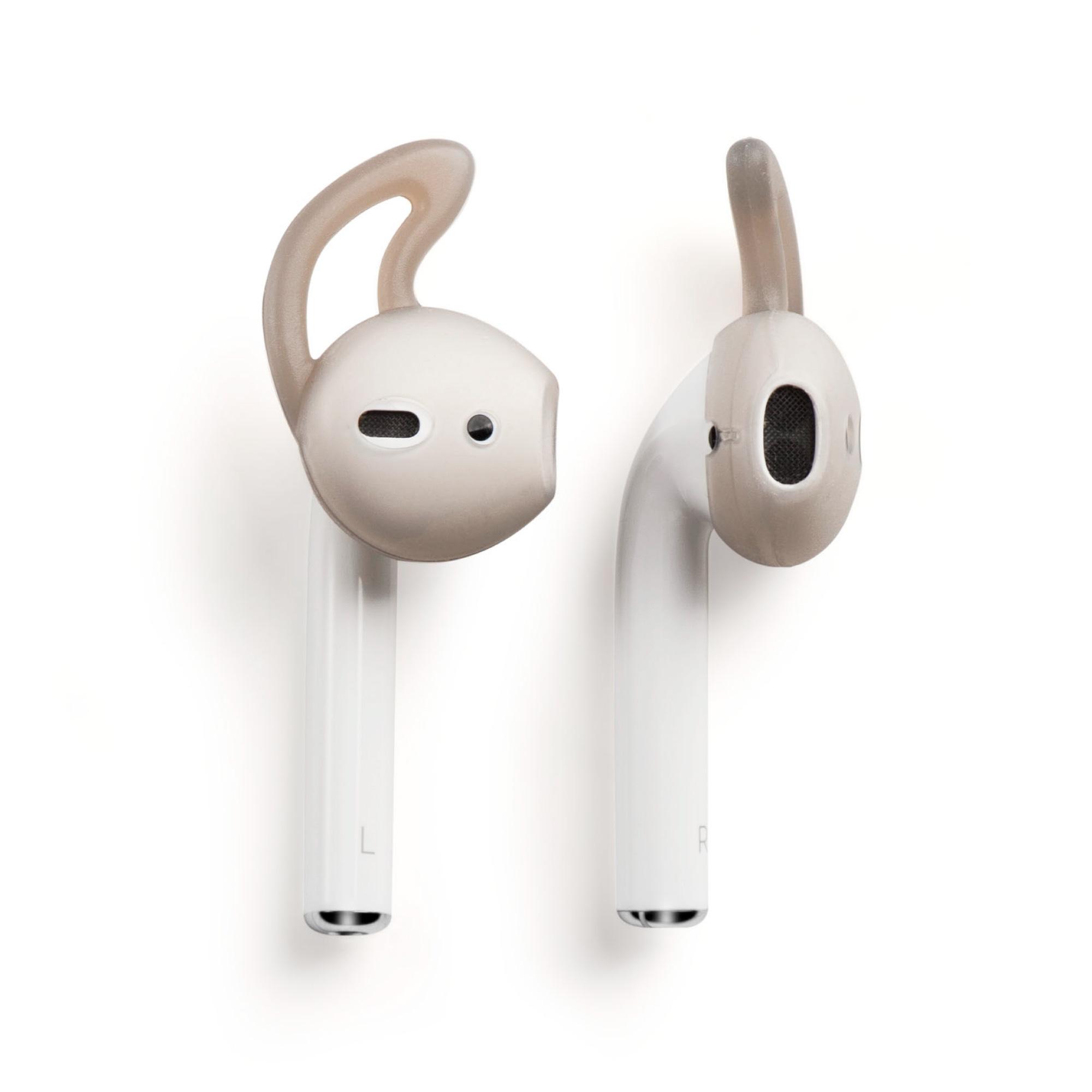 1 Pair Silicone Ear Hooks Skin Cover Holder For Apple