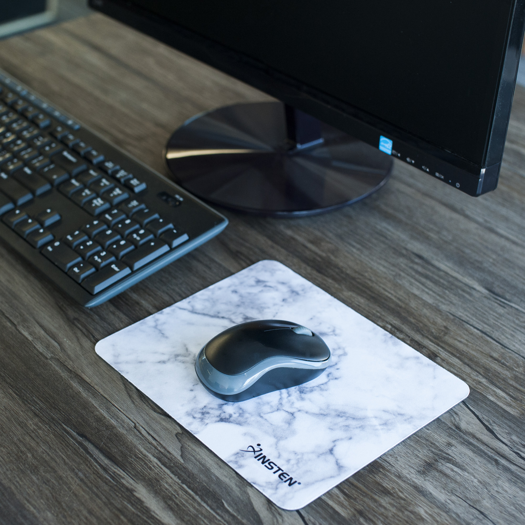 Stylish Marble Design Non Slip Mousepad Mouse Pad For Computer Pc L200