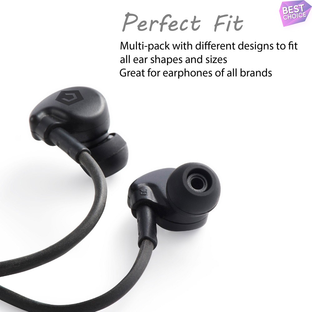 8pc-Replacement-Ear-Tips-Ear-Buds-For-Beats-By-Dre-Powerbeats-2-3-Wireless thumbnail 4