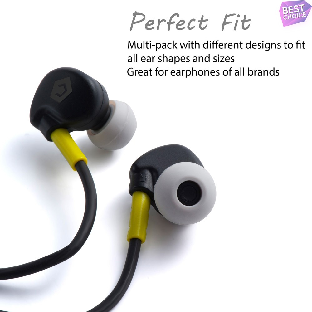 8pc-Replacement-Ear-Tips-Ear-Buds-For-Beats-By-Dre-Powerbeats-2-3-Wireless thumbnail 8