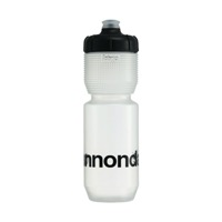 Cannondale Logo Gripper Bottle Clear + Black 750ml CP5100U0175