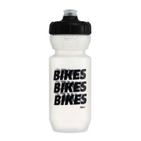 Fabric Gripper Bikes Bikes Bikes Water Bottle Clear/Black 600ml FP5150U0160
