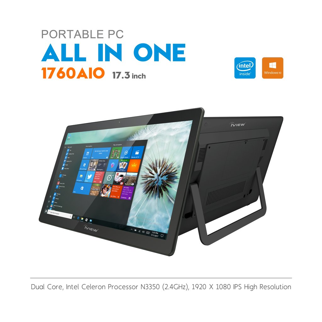 Portable PC All-In-One 1760AIO 17.3 inch