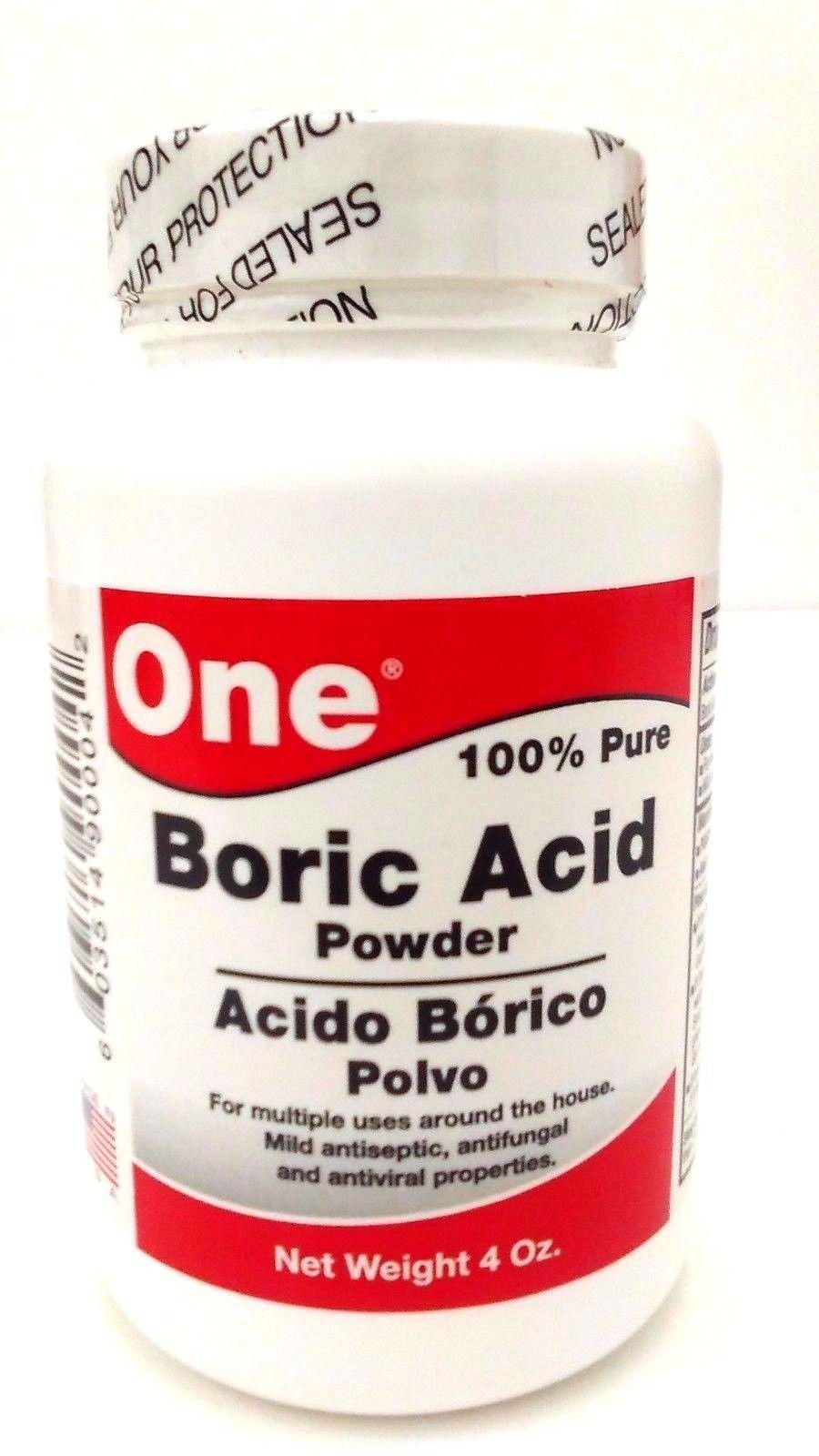 Acido borico para los pies como se usa