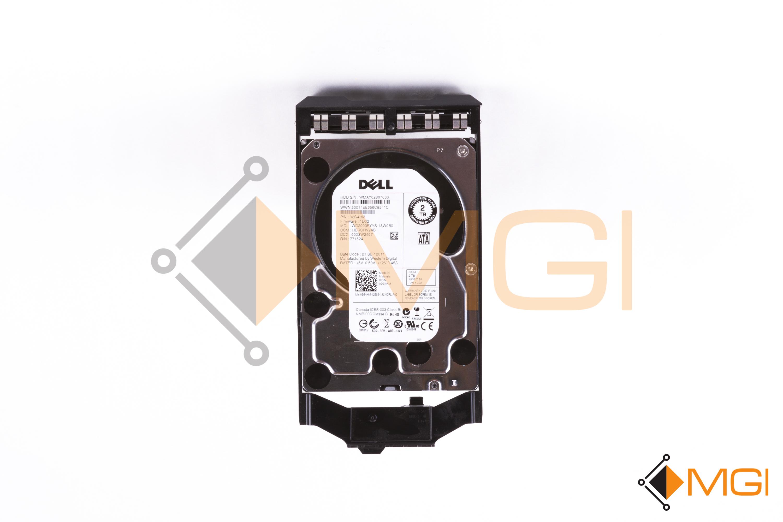 2G4HM DELL 2TB 7.2K 3G LFF SATA HARD DRIVE// W TRAY