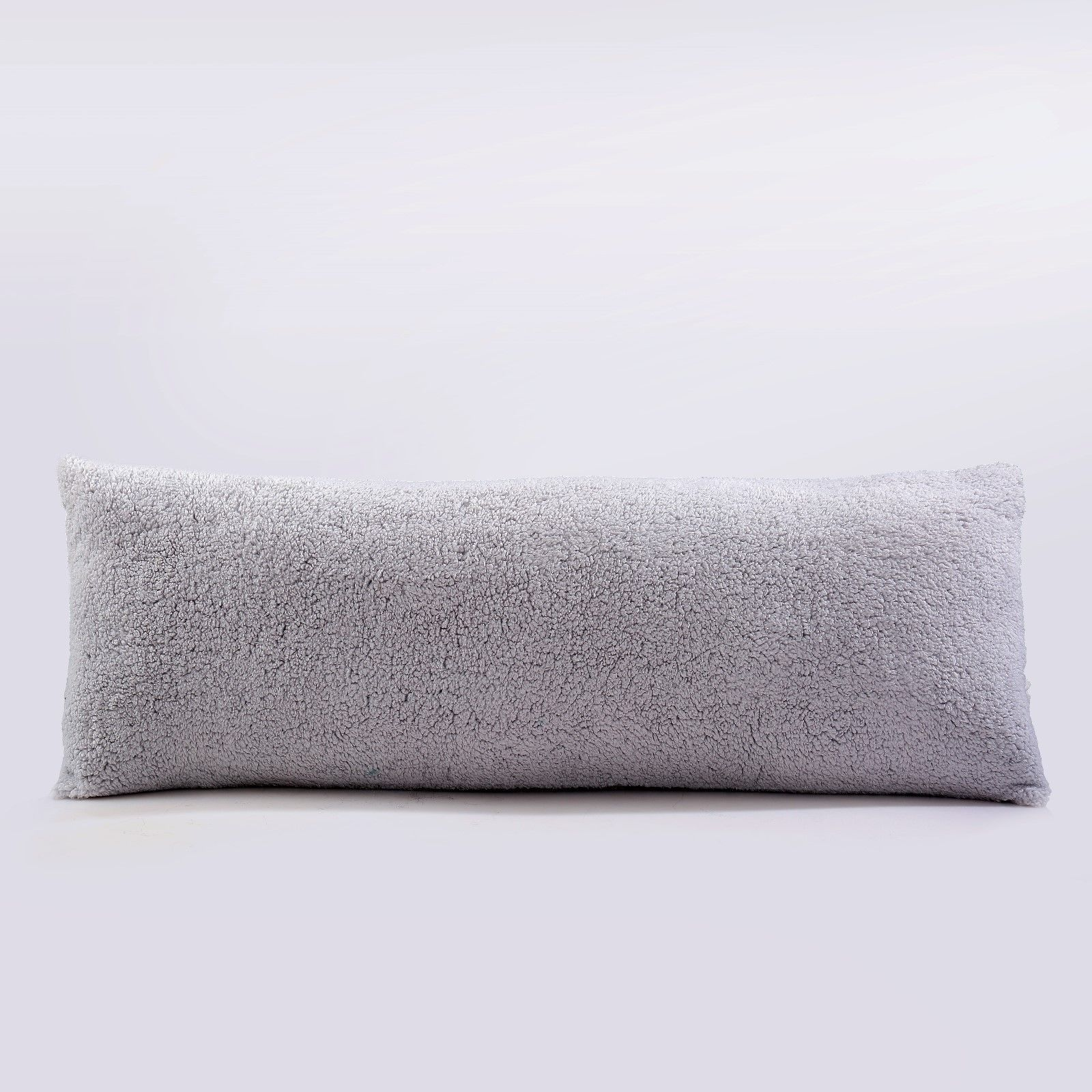 Sherpa Body Pillow Cover.Details About Reafort Ultra Soft Sherpa Body Pillow Cover Case With Zipper Closure 21 X54