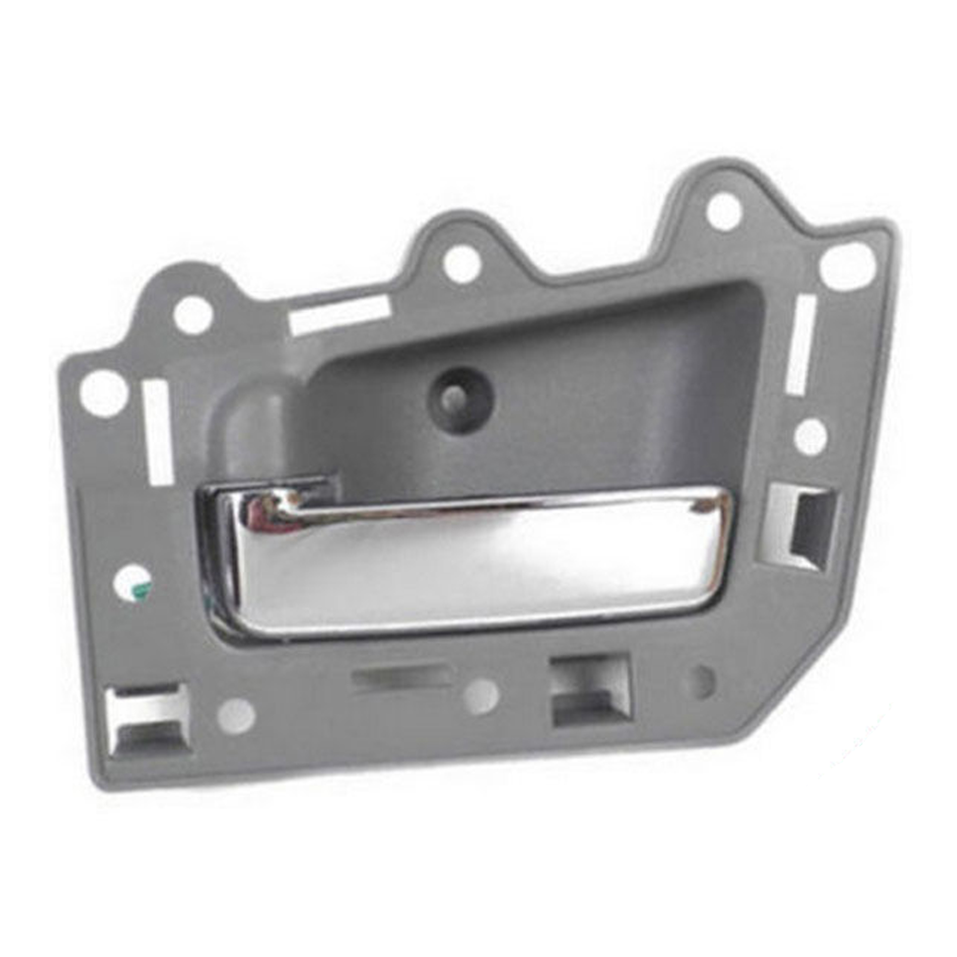 ECCPP Chrome Door Handle Interior Inside Inner Rear Driver Side for 2005-2011 Jeep Grand Cherokee Gray